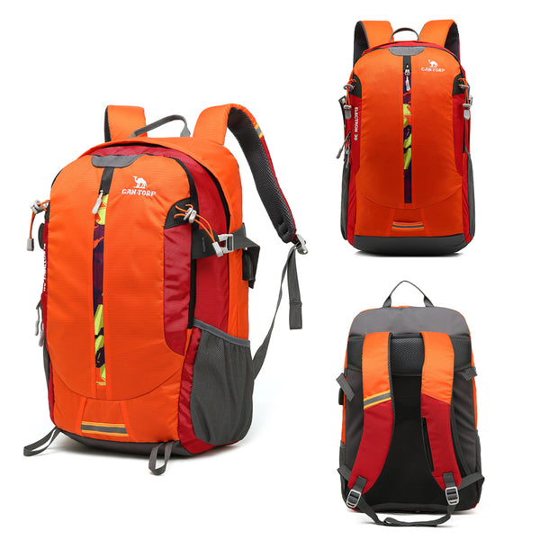 WANTORP MOUNTAINEER LIGHTWEIGHT MULTI FUNCTIONAL LARGE CAPACITY HIKING WATER PROOF BACKPACK