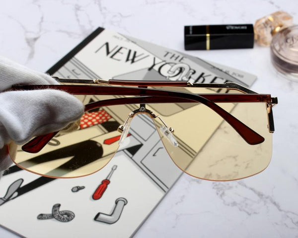 THE NEW YORK CITY DESIGN AVANT GARDE ANTI UVA UVB SUNGLASSES