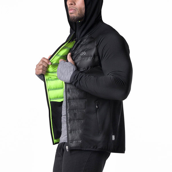 MUSCLE AESTHETIC TRAINING SLIM OUTDOOR COTTON JACKET