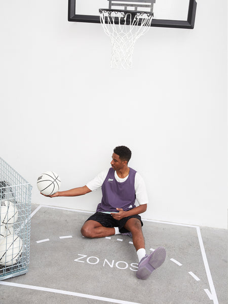 ZONOS REVERSIBLE BREATHABLE BASKETBALL TRAINING TANK TOP TEES