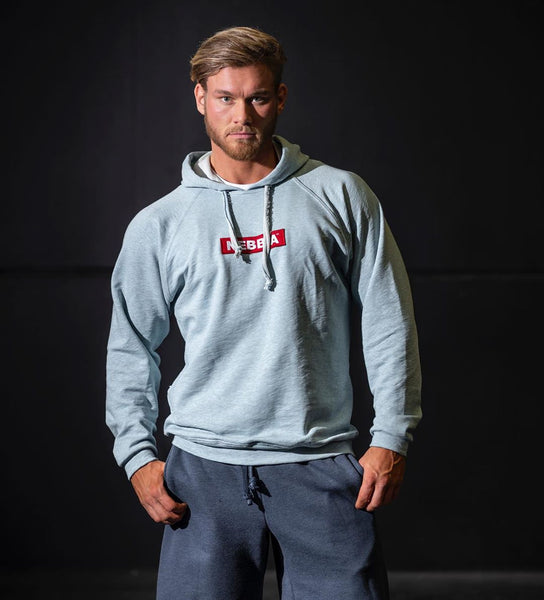 MUSCLE RANGER KING CAPTAIN GYM TERRY SPORT HOODIE SWEATSHIRT - boopdo