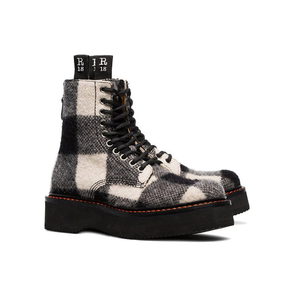 MONNA FIKI URBAN STYLE CHUNKY SOLE WOMEN'S HIGH TOP CASUAL BOOTS - boopdo