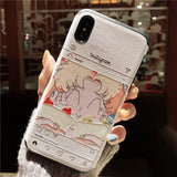 INSTAGRAM GIRL APPLE IPHONE SILICONE PROTECTIVE PHONE CASE