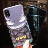 BATMAN SPIDER MAN APPLE IPHONE SILICONE PROTECTIVE PHONE CASE