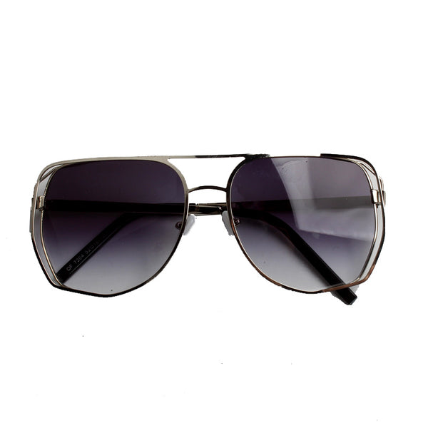 BOOPDO DESIGN IRREGULAR AVIATOR STYLE SUNGLASSES - boopdo
