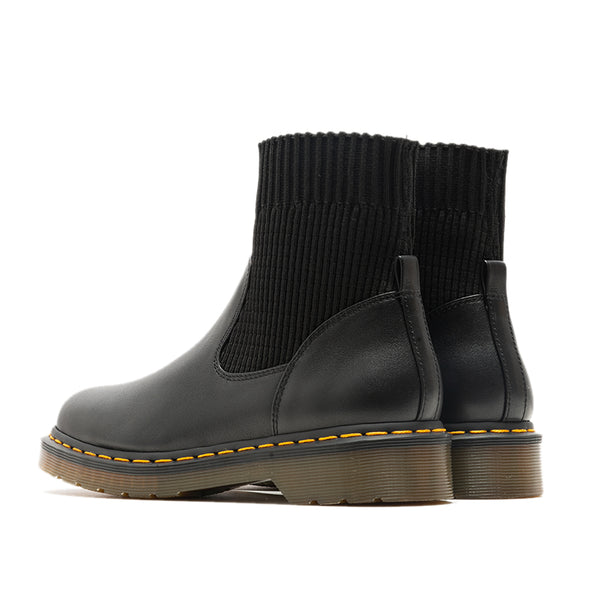 MOBONNIE QUEEN STUDIO ROUND HEAD KARTIN CHELSEA WOMENS BOOTS