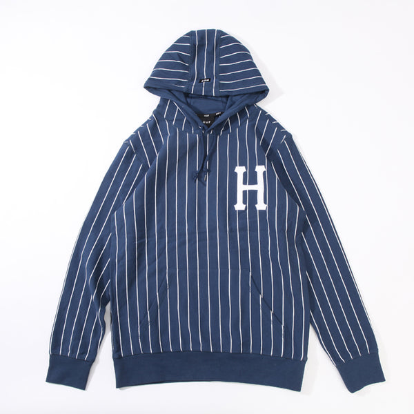 SKATEBOARD LEAGUE BOX LOGO STRIPED HOODIE PULLOVER WITH HOODIE - boopdo