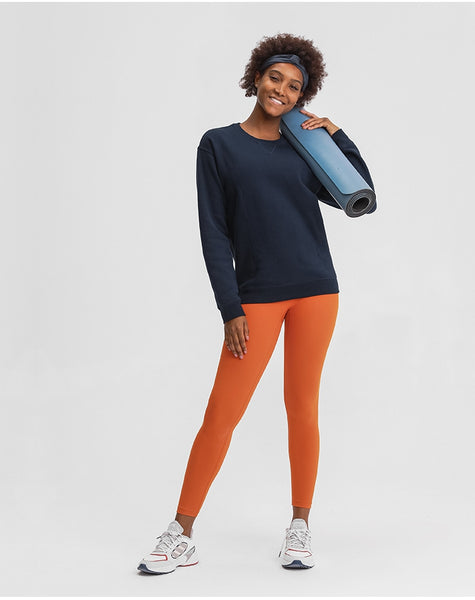 PARISA LISSA SHINE AND FINTESS LONG SLEEVE CREW NECK SWEATER - boopdo