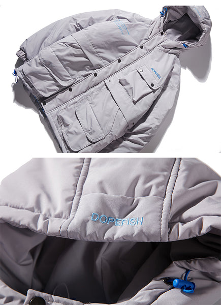 INVOZA RHYMONSTER URBAN OUTDOOR STYLE HOODED JACKETS