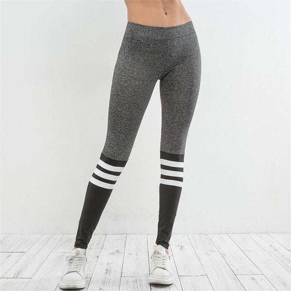 ZUMBA GIRLS GYM LEGGINGS WITH CONTRAST PANELS
