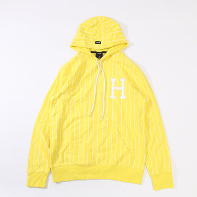 SKATEBOARD LEAGUE BOX LOGO STRIPED HOODIE PULLOVER WITH HOODIE