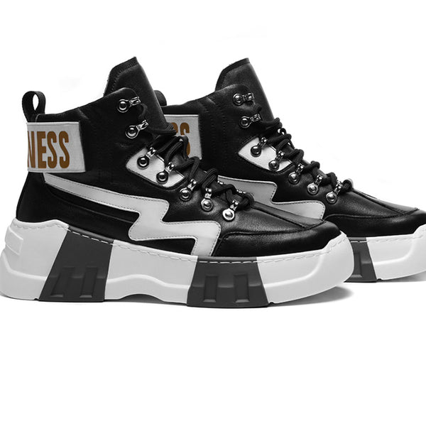 ZAYN ZICKO ANDERDA HIGH TOP CASUAL SNEAKER BOOTS