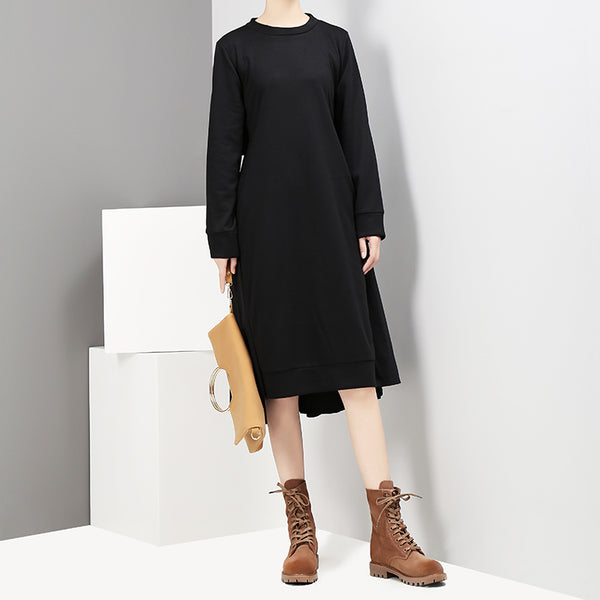 STELLA MARINA COLLEZIONE FRENCH DESIGN SLIM WAIST DRESS - boopdo