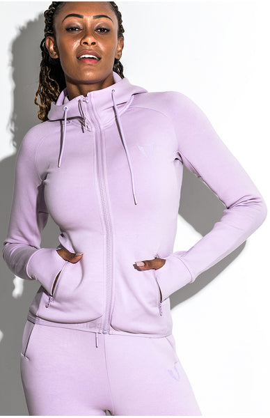 FIRM ABS RUNNING TRAINING TRACK JACKET WITH HOOD