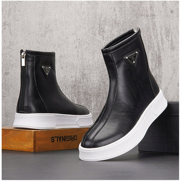 DOISVO ROKKIE URBAN STYLE MID TOP CASUAL SHOES - boopdo