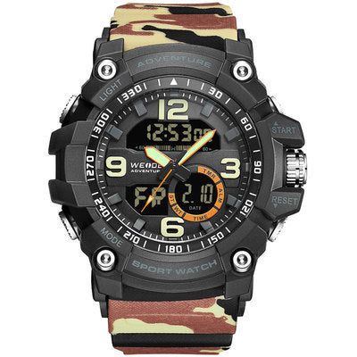 BOBOZO WEIDE BIG DIAL MULTI FUNCTIONAL DOUBLE DISPLAY SPORT WATCH