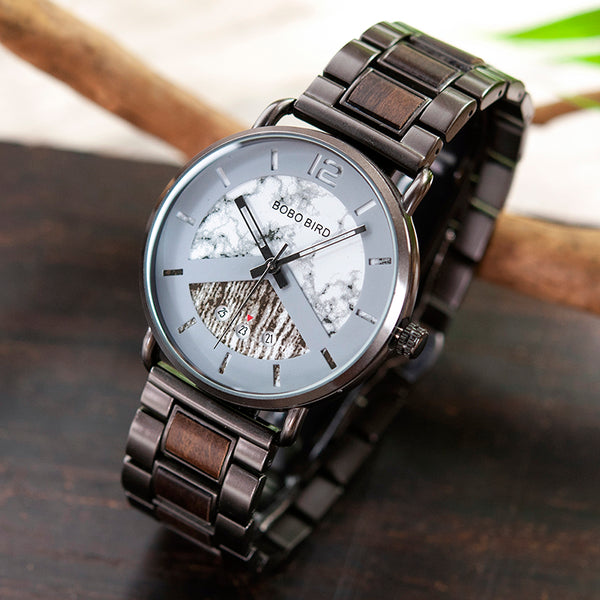BOBO BIRD WEEGOZ ATMOS BUSINESS WOODEN WATCH