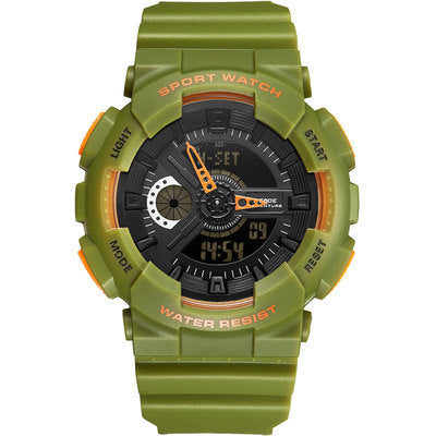 BOBOZO WADE WEDGO MULTI FUNCTIONAL ELECTRONIC TRANSPARENT SPORT WATCH