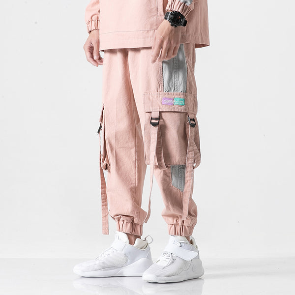 THE ALPARA CRAFTSMAN TONI CINI JOGGER PANTS IN PINK - boopdo