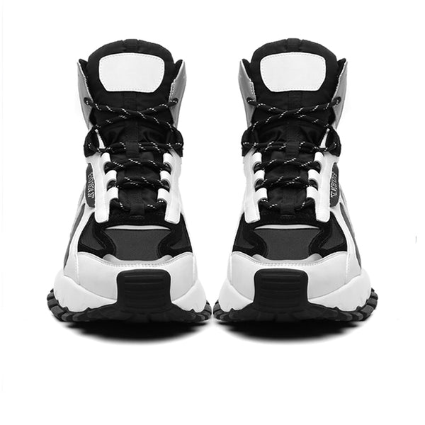 KAMONIC NOLOGY AIR CUSHION MID SNEAKER BOOTS