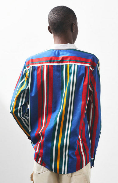 BOOPDO LONDON FESTIVAL LONG SLEEVE SHIRT IN MULTI COLOR - boopdo