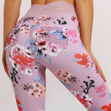 ZUMBA GIRLS POWER LEGGINGS IN FLORAL PRINT