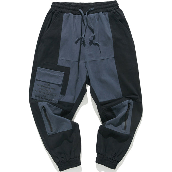 ZUPITZO PANADA MOSAIC FIGURE PATCH SWEATPANTS