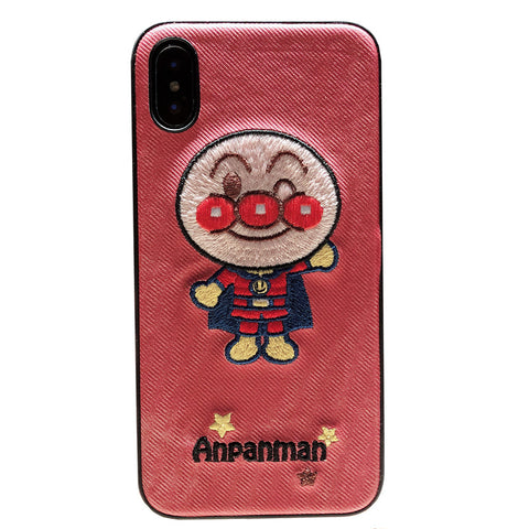 ANPANMAN EMBOSSED MOBILE CLOTH PATTERN  IPHONE COVERS