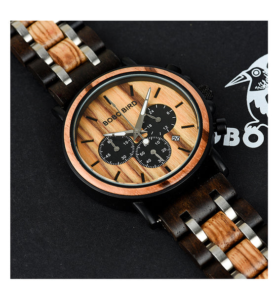 BOBO BIRD JAPAN FEROX VENUS WOODEN WATCH