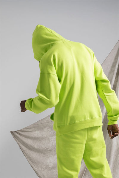 HYPESTER STYLE URBAN FASHION INSPIRED MATCHING PANTS WITH HOODED PULLOVER - boopdo