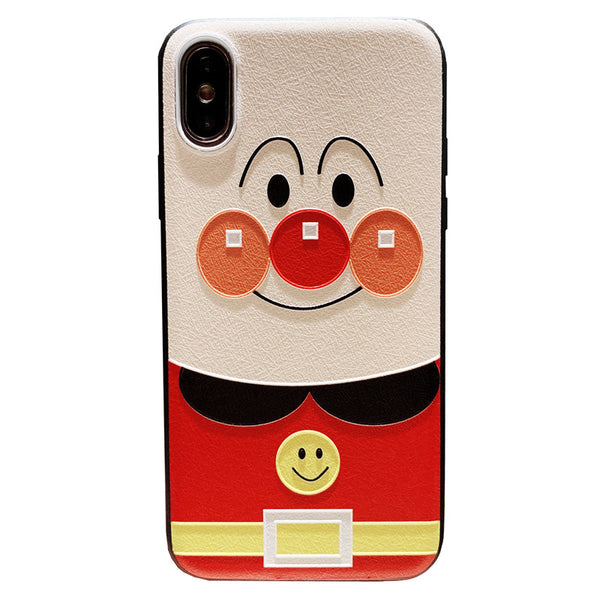 seven sheath superman cartoon embossed apple iphone cases
