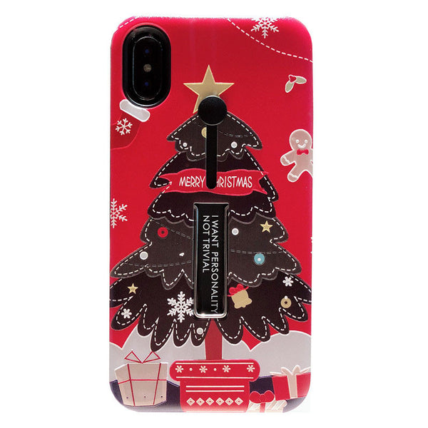 CHRISTMAS GIFT APPLE IPHONE INVISIBLE BRACKET PHONE CASE