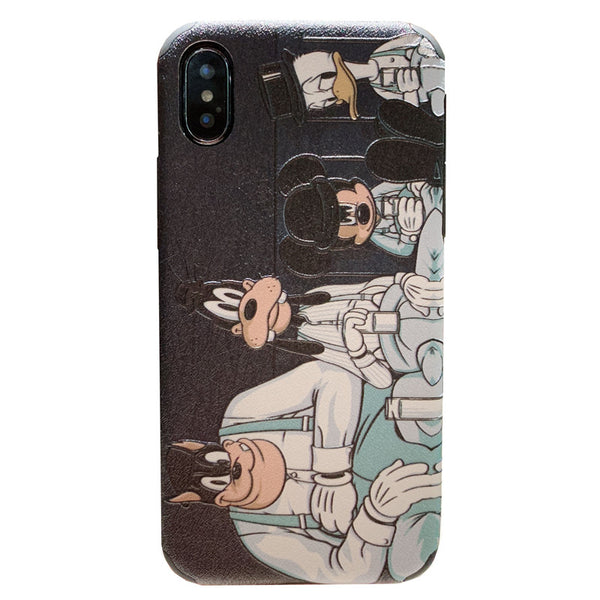 IPHONE APPLE XSMAX GOOFY MICKEY CARTOON PRINT MOBILE PHONE COVER - boopdo