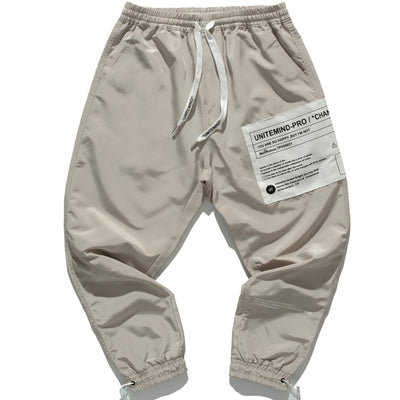ZUPITZO BROOK UNITE MIND PRO PATCH PLATE JOGGER PANTS