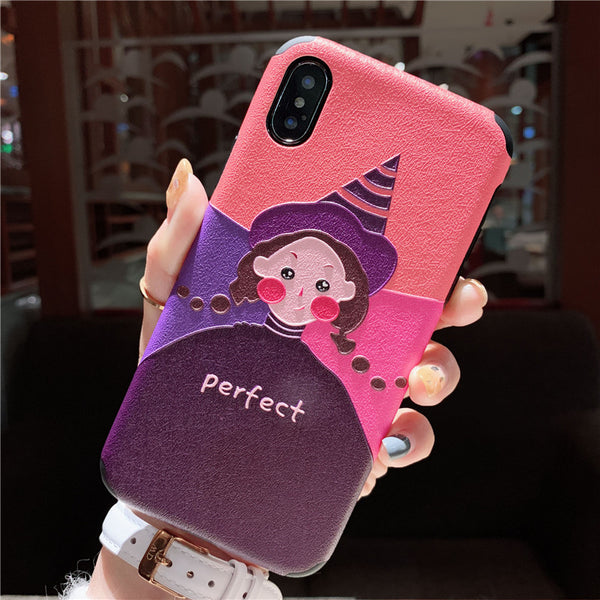 PERFECT FASHION ANTI FALL APPLE IPHONE CASES - boopdo