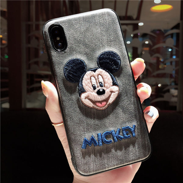 CUTE MOUSES CARTOON PRINT IPHONE PHONE COVERS - boopdo
