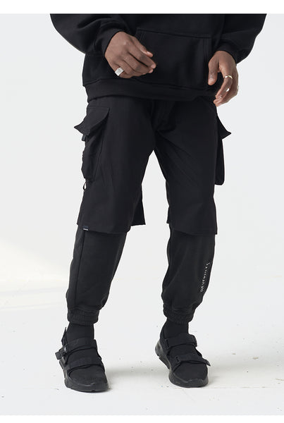 SHOTE BLOGGISH STREET CLOTHING SWEATPANTS IN BLACK - boopdo