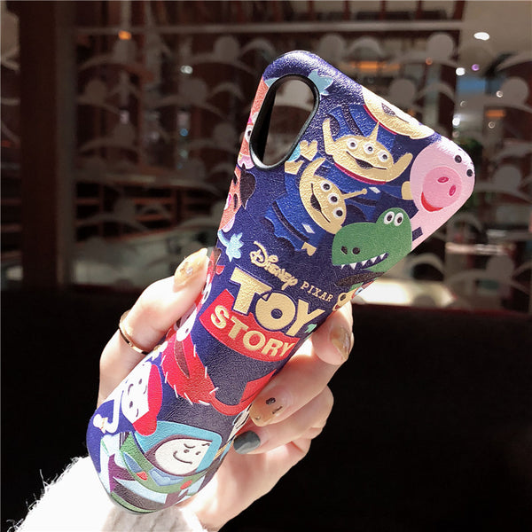 PIXOR TOY STORY CARTOON PRINT IPHONE CASES - boopdo