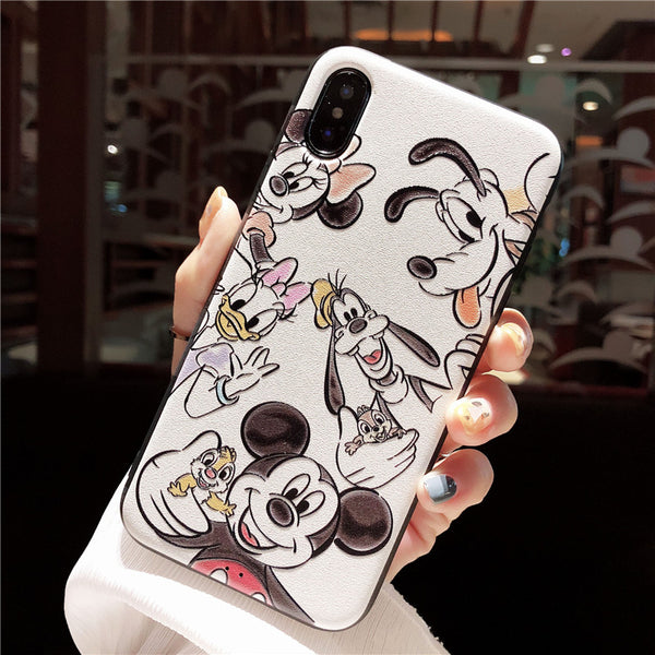 MADE TO CUDDLE MAGNETIC STEALTH IRON CARTOON PRINT APPLE IPHONE PNONE CASES - boopdo