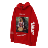 MONA LISA OIL PAINTED LOLLIPOP MAMC HOODIE SWEATSHIRT - boopdo
