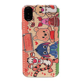 CARTOON WINNIE THE POOH PROTECTIVE PHONE COVER PHONE CASES