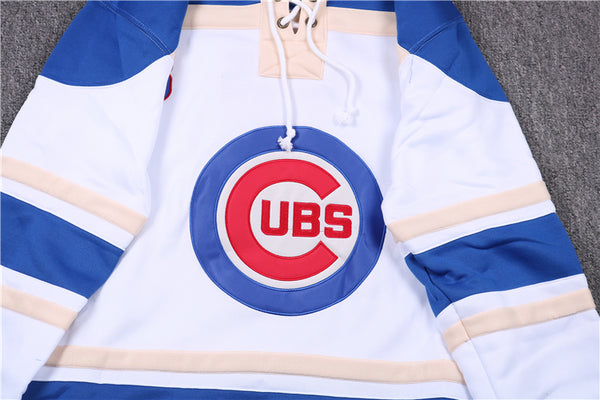 PLAYER UBS BASEBALL PLUS VELVET ICE HOCKEY HOODIE SWEATER