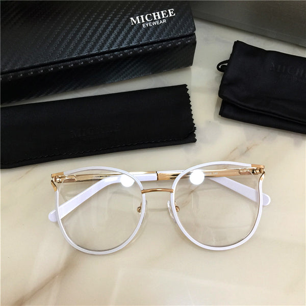 COSEE MICHE EYE WEAR ANTI BLUE LIGHT METAL FRAME TRANSPARENT GLASSES