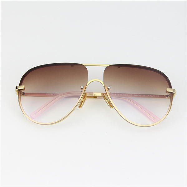 INSTA MICHE EYE WEAR ANTI UV SHAPE FRAME SUNGLASSES - boopdo
