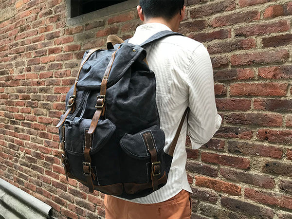 BETUCCI DRAWNSTRING WATERPROOF TRAVEL BACKPACK - boopdo