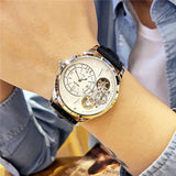 MEGIR AUTOMATIC CHRONOMETER QUARTZ WATER PROOF WATCH - boopdo