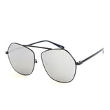 MICHE EYE WEAR POLYGON TRANSPARENT UNISEX SUNGLASSES - boopdo