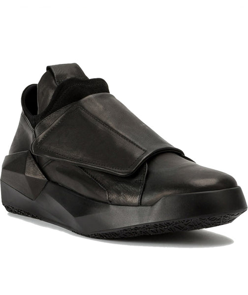 MARTINTESE BATMAN PLATFORM LOW TOP LEATHER CASUAL SPORTIVE SHOES - boopdo