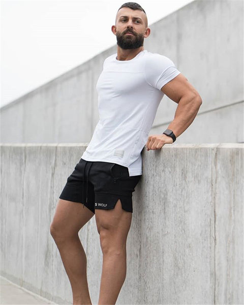 FAREX FITNESS WOLF TRAINING SQUAT SHORT PANTS - boopdo