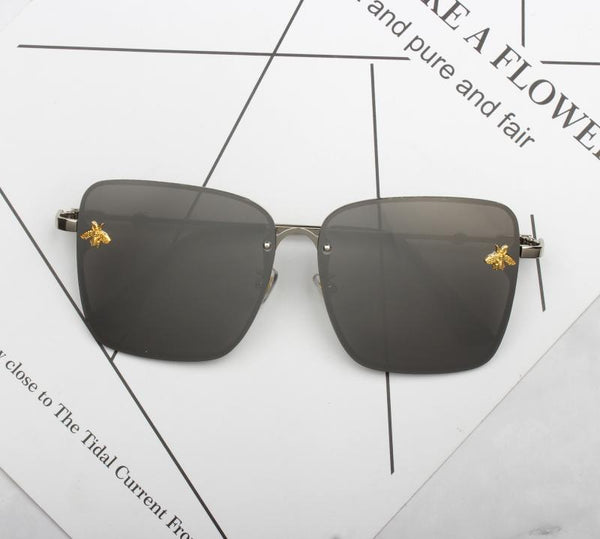 BROXI BOOPDO DESIGN BEE SQUARE SUNGLASSES - boopdo